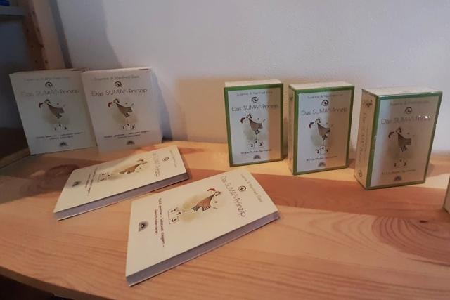 SUMA Prinzip, 40 Ess-Muster-Typ-Karten und Buch